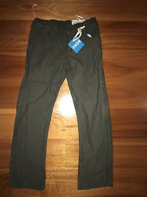 BNWT OUCH Sz 8 Boys Khaki Pants 👖 NEW