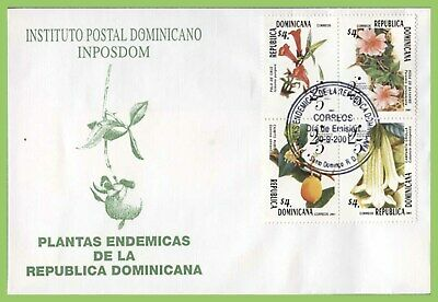 Dominican Republic 2001 25th Anniv of National Botanic Garden First Day Cover