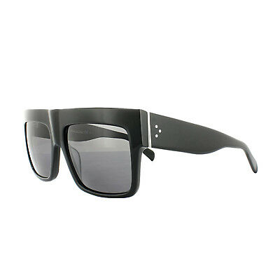 5884409591a CELINE SUNGLASSES 41756 S ZZ Top 807 3H Black Grey Polarized Kim Kardashian  - EUR 174