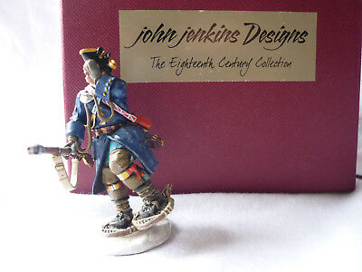 John Jenkins kein King&Country Fähnrich Langy SF-07 1758 Battle on Snowshoes