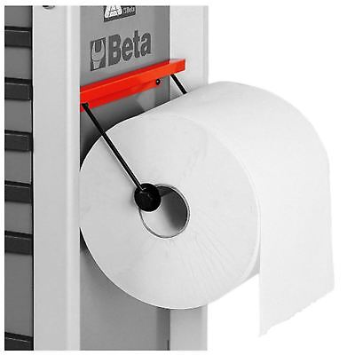 Beta Tools 2400S R/PC Paper Roll Holder For C24S Red Roller Cab