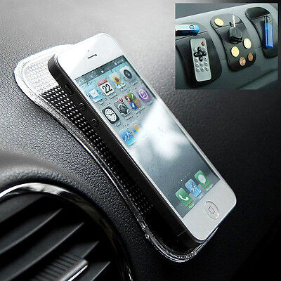 Car Dashboard Sticky Pad Anti/Non-Slip Mat Holder For GPS Mobile Phone Pads Mats