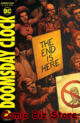 Doomsday Clock  #1 (Of 12) (2017) 1St Printing Bagged & Boarded Dc Comics