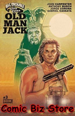 Big Trouble In Little China Old Man Jack #3 (2017) 1St Printing Main Cover Boom