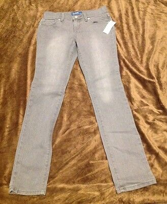 NWT Girls Old Navy Skinny Jeans Gray Size 10
