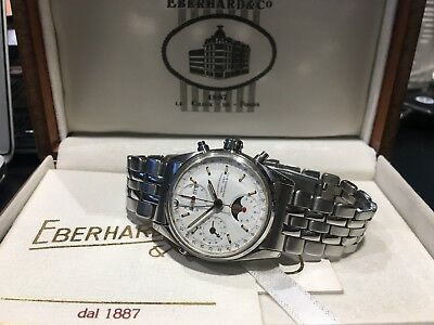 Eberhard & Co Chronograph Moonphase 31011/A Navy Master - Orologio Originale