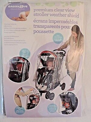 Babies R Us stroller weather shield rain protector NEW
