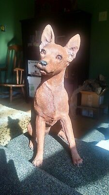 2004 Sandicast Miniature Pinscher Collectable New In Box