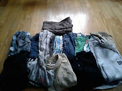 Lot of 17 Boys Mixed Lot  Size 7 Gymboree,Carter's, Hawk, Chaps and more