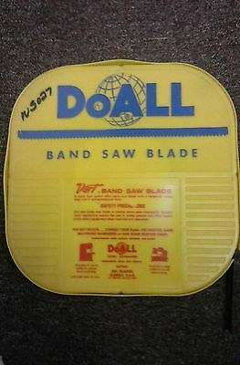 "NOS DoAll Dart Precision 3/4"" Band Saw Blade 100FT Type 308-445"