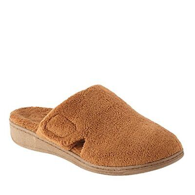 NEW! Vionic By Orthaheel Women's Gemma Slippers Size 10 Chestnut Brown CUTE WARM