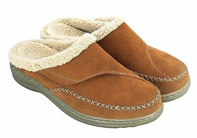 Charlotte Orthofeet Womens Comfort Orthopedic Arch Diabetic Slippers 10 Wide NEW