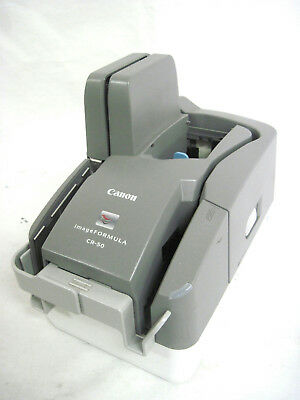 Canon imageFORMULA CR-50 USB Sheetfed Check Transport Scanner M111101 No Cover