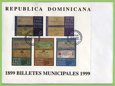 Dominican Republic 1999 Centenary of Banknotes m/s First Day Cover