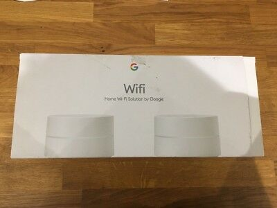 GOOGLE WiFi Whole Home System - Twin Pack untested returns
