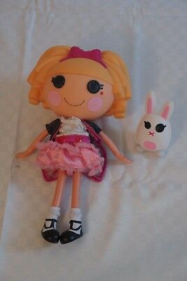Lalaloopsy Puppe mit Hasenfigur, ca. 30cm