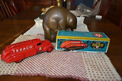 1934 Diamond T Tanker Refered to as the Doodle Bug, Die cast cion bank.