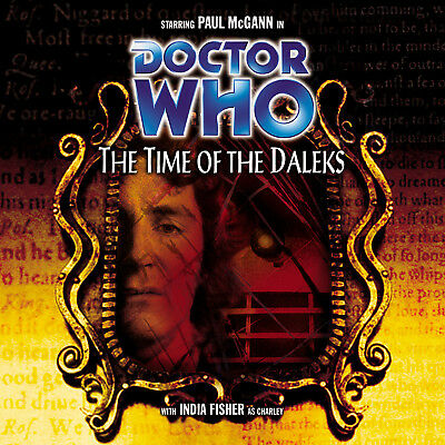 Big Finish Dr Doctor Who THE TIME OF THE DALEKS *rare/deleted* CD