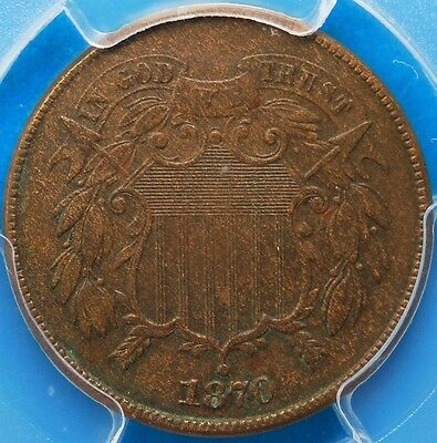1870 Two Cent Piece, PCGS, ******XF-40******, FREE SHIPPING, REDUCED