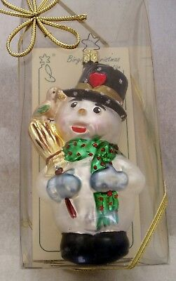 Brigit's Christmas Collection  Inge-Glas   Grandfather's Snowman  OWC