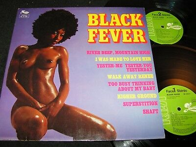 THE HARLEM SOUL BROTHERS Black Fever /French Nude Cover DLP RCA LOCOMOTIVE 21009