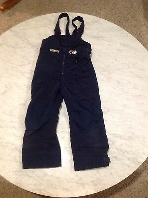 Columbia Tectonite Youth Snowpants Navy sz 4/5