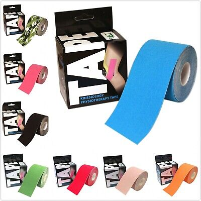 NT Sports Kinesiology Tape Elastic Physio Muscle Support Tape 5m x 5cm UK Seller
