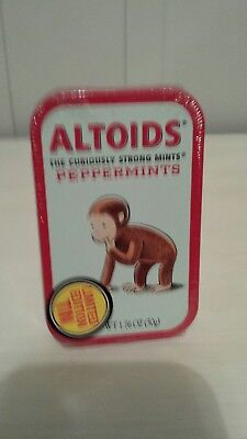 Curious George Un-opened Altoid Mint Tin. Still In Original Wrapper.
