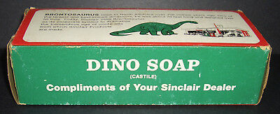Vintage Sinclair Soap Dino Advertising Sign Gas Station Display Service Promo