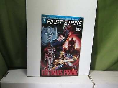 2017 Lcsd Optimus Prime First Strike #1 Variant Lcsd 2017 Idw
