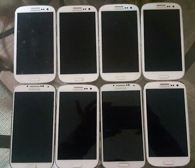 Lot Of 8 Samsung Mixed  Carriers