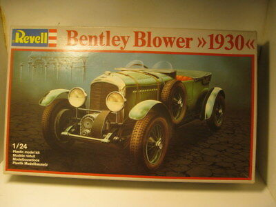 1/24 1930 Blower Bentley, winner of Le Mans, unmade kit by Revell.
