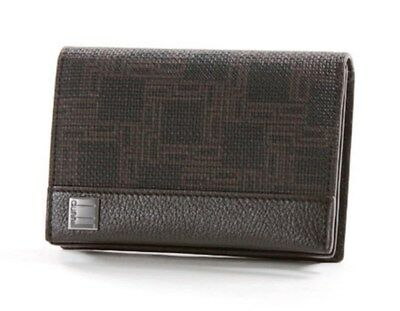 NEW- DUNHILL OH4700A D-Eight Leather Card Case Wallet France ferragamo $295
