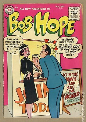 Adventures of Bob Hope #34 1955 VG- 3.5