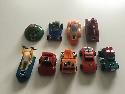 Transformers G1 Minibot Lot of 9