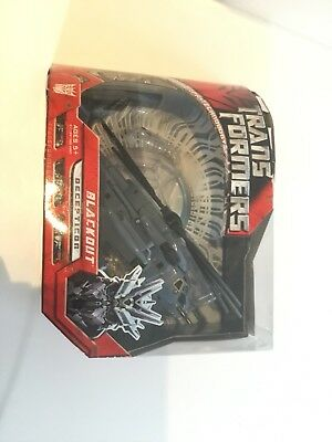 Transformers voyager Blackout opened box