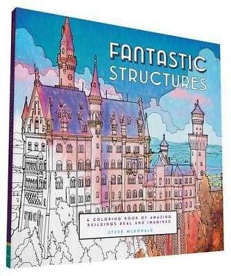 Fantastic Structures (Colouring Books) by Steve McDonald | Paperback Book | 9781