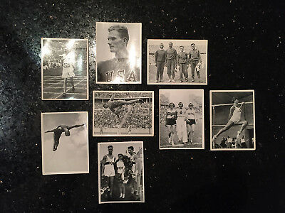 Olympia 1936 Berlin, 142 trading cards from winter and sommer games