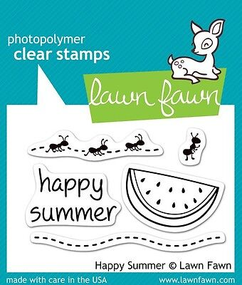 Lawn Fawn Die & Stamp Set - Happy Summer