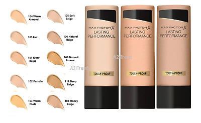 Max Factor Lasting Performance Foundation 35ml --Choose shade---
