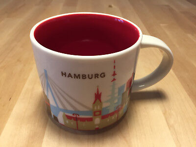 Starbucks You Are Here City Hamburg, Tasse SKU Becher YAH new Mug, GERMANY