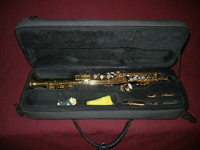 Selmer Soprano Saxophone - Super Action 80 Series 3 - Pro Model - As New Cond.