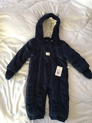 Kanz Baby Frosty Time Snowsuit Size 12 Months - Brand New