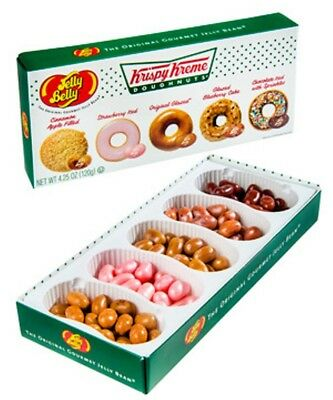 Jelly Belly Krispy Kreme Doughnuts® Jelly Belly Bean Gift Box 120gm Donut☆NEW☆