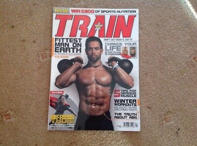Train Magazine Issue 1 - Rich Froning - Crossfit - Fitness Muscle Magazine
