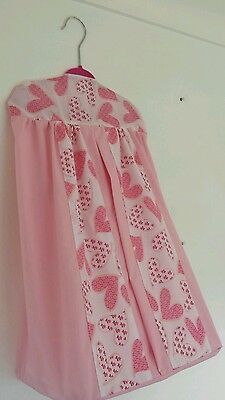Gorgeous baby girls nappy stacker perfect for your babys room next day post  NEW