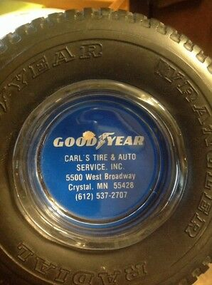 Good year tire ashtray carls service  5500 west Broadway crystal Minnesota