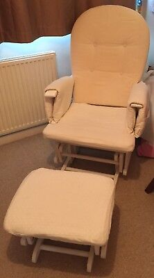 Nursing Chair And Stool Used But Still Useful!