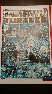 Teenage Mutant Ninja Turtles #3 (1985, Mirage) First Printing.