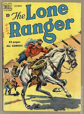 Lone Ranger (Dell) #27 1950 GD/VG 3.0